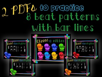 Smitten with Rhythm, PDFs and worksheets for practicing quarter rest