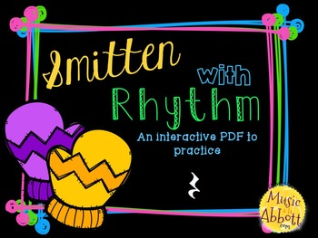 Smitten with Rhythm, PDFs and worksheets for practicing qu