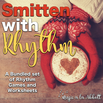 Smitten with Rhythm, PDFs and worksheets for rhythmic practice: BUNDLED SET