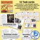Smoke Jumpers Informational Text Diagrams Illustrations Task Card RI.3.7 RI.3.8