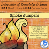 Smoke Jumpers Informational Text Diagrams Illustrations Task Card RI.3.7 RI.3.8