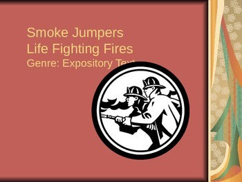 Smoke Jumpers Vocabulary Power Point Reading Street 2011