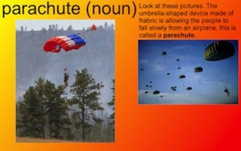 Smokejumpers Vocabulary Presentation