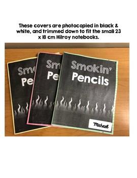 Smokin' Pencils Cover - Writing Stamina Journal