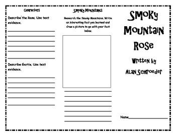 Smoky Mountain Rose Trifold