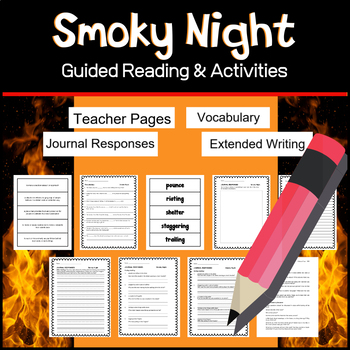 Smoky Night   Caldecott Book Guided Reading Activities