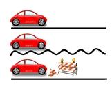 Smooth/Bumpy Speech Cars for Dysfluency