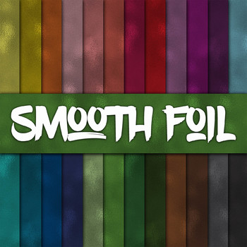 Smooth Foil Digital Paper Pack - 24 Different Papers - 12 x 12