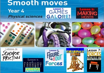 Smooth Moves- Primary Connections unit outline (WHOLE TERM DONE!)
