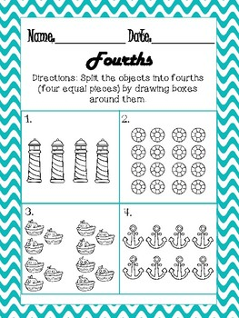 Smooth Sailing Fractions 3rd Grade Bundle (Growing)