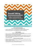 Smooth Talking: Conventions of Speech