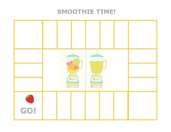 Smoothie Game Board (Words Their Way) Adaptable Game Board
