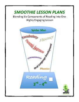 Smoothie Lesson Plan - Spiderman