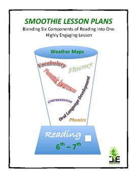 Smoothie Lesson Plan - Weather Maps