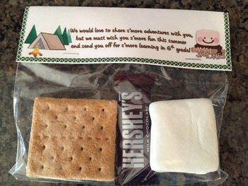S'more End of Year Gift Tag
