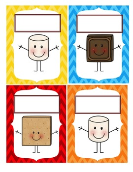 Smore Tags for Helpers, Nametags and Labels