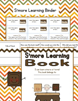 S'more Home-School Learning Book