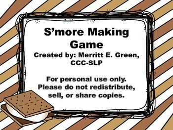 S'more Making Game
