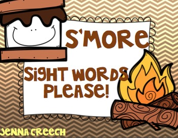S'more Sight Words