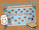 Back to School Bulletin Board Display Smore Smart Students!