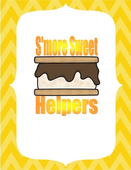Smore Sweet Helpers Poster Free