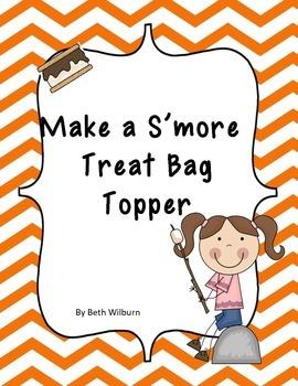 S'more Treat Bag Topper