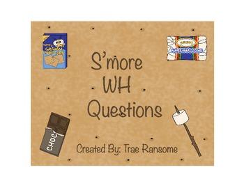 S'more WH Questions (L.K.1.d)