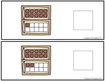 Smores 20 Frame Counting Interactive Book