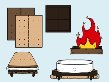 S'mores Clipart - PNG Format for Personal or Commercial Use