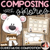Composing with S'mores: Guided Music Composition for Eleme