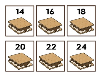 S'mores Count by 10's & Doubles