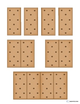 """""""Smores"""" Fraction Squares for Autism"""