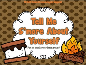S'mores Icebreaker Cards