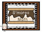 S'mores Math Activities & Centres