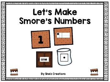 Smores Number Fun - Numbers 1-20