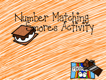 Smores Number Match Game