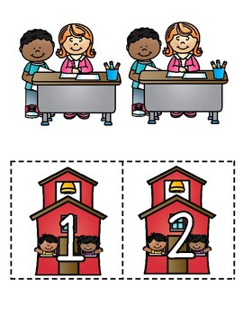 SnEaKy Teacher Number Recognition Game and Math Center