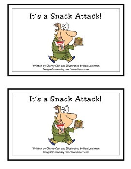 Snack Attack Guided Reader (sn initial blend)