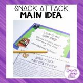 Snack Attack Main Idea QR Code Fun
