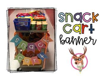 Snack Cart Banner