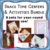 Snack Centers and Activities Bundle