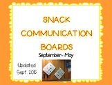 Snack Communication Boards