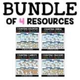 Snack Counting Clipart Bundle