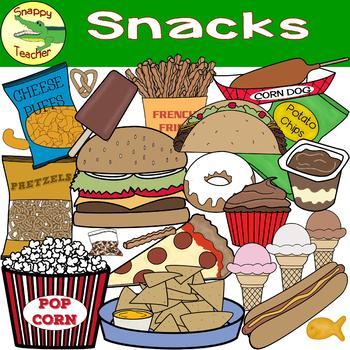 Snack Food Clip Art