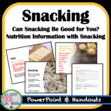 Healthy Snack Lesson, FACS FCS