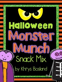 Snack Mix Bundle! 13 (And Counting) Themed Snack Mixes for the Entire Year!