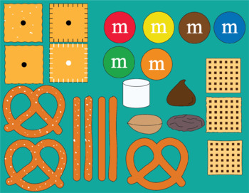 Snack Mix Clipart
