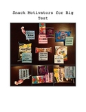 Snack Motivators for Big Tests