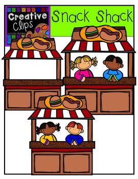 Snack Shack {Creative Clips Digital Clipart}