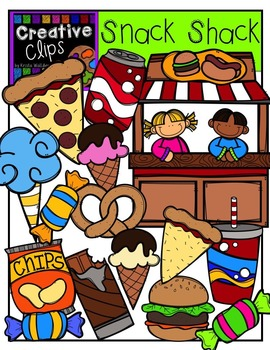 Snack Shack {Creative Clips Digital Clipart}